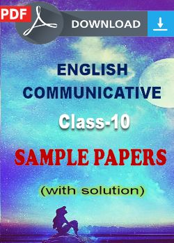 10 English Comm. Sample Papers (PDF)